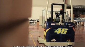 Moto - News: Ago e Vale lavorano nel 'Cubo' Dainese