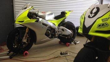 Moto - News: Rubate le Aprilia SBK di Biaggi e Laverty