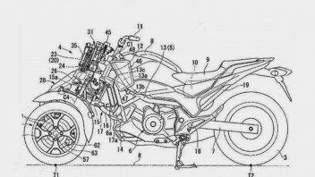 Moto - News: Rumors, Honda prepara un maxi tre ruote