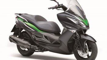 Moto - Scooter: Kawasaki ha in mente un rivale per il T-Max?