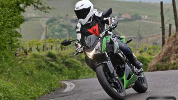 Moto - Test: Kawasaki Z300 - Ritorno al futuro