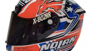 Moto - News: Il nuovo casco di Stoner per la 8 Ore