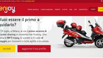 Moto - Scooter: Milano da...guidare con gli MP3 Enjoy