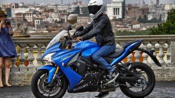 Moto - Test: Suzuki GSX-S1000F: Rock on the road