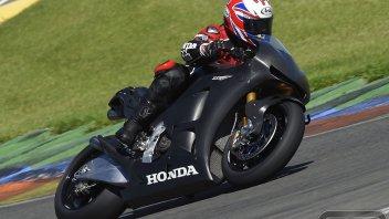 Moto - Test: Honda RC213V-S: Ron Haslam la prova per noi