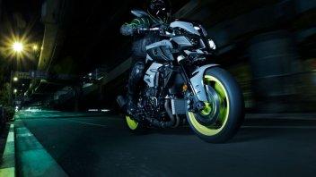 Moto - News: MT-10: Yamaha mostra la sua streetfighter