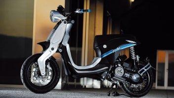 Moto - Scooter: Polini immagina la Vespa del futuro