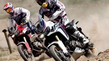Moto - News: Honda, l'Africa Twin fa tappa a Verona