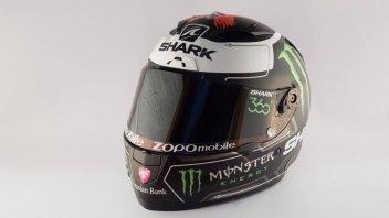Lorenzo: ecco il nuovo casco dello 'squalo'