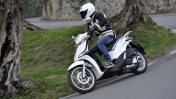 Moto - Test: Piaggio Liberty: (ri)evoluzione scooter