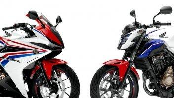 Moto - News: Honda CBR500R e CB500F '16: la giusta via