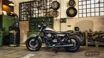 Moto Guzzi V9, bobber all'italiana