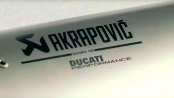 Moto - News: Ducati - Akrapovic: l'emozione in 60 secondi