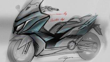 Moto - News: Kymko K50, qualcosa di grosso è in arrivo