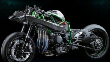 """Moto - News: Il Turbo è """"verde"""": il futuro di Kawasaki"""
