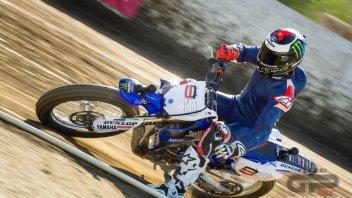 Moto - News: Chad Reed 'sparring' di Lorenzo nel flat track