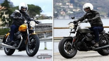 Moto - Test: Moto Guzzi V9, Roamer e Bobber: liscia o gassata?