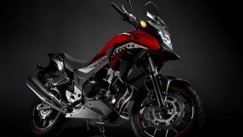 Moto - News: Honda CB500X: adventure in salsa 'easy'