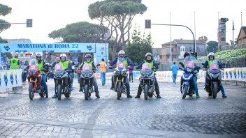 Moto - News: Honda Italia: sponsor tecnico ufficiale della 22° Maratona di Roma