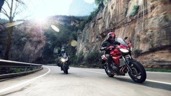Moto - News: Yamaha: Tour 2016 dedicato alla famiglia MT e Sport Touring