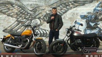 Moto - Test: Moto Guzzi V9 Bobber & Roamer: il videotest