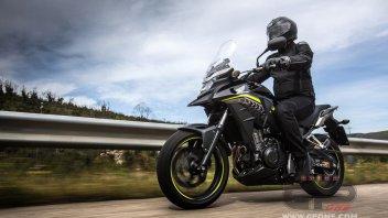 Moto - Test: Honda CB500X: piccola crossover per grandi spazi