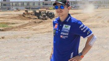Lorenzo visita una nuova pista in Kazakistan