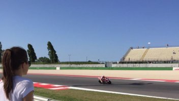 Love is ... watching Stoner ride at Misano