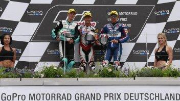 Sachsenring: Pawi dominates, joy for Locatelli