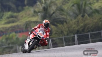 Pirro at Sepang: new surface OK but doesn't dry easily