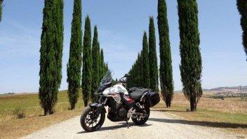 Moto - News: Mototurismo: il Chianti con la Honda CB500X Travel Edition