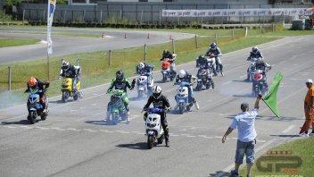 Moto - Scooter: Polini Italian Cup, 4° round 'caldo' a Pomposa