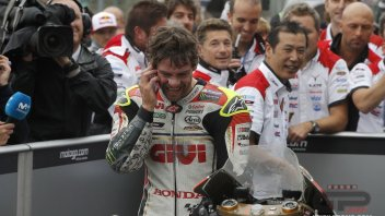 Crutchlow: winning? the best thing.. after my daughter