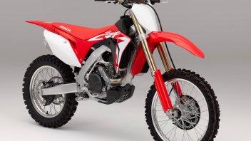 Honda, CRF450RX: pronta a vincere