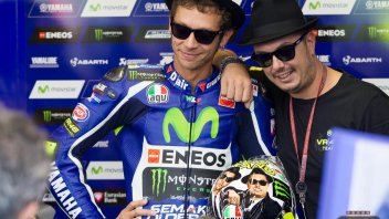 Rossi on a mission from god at Misano