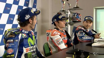 Lorenzo against Rossi: you don't pass like that!