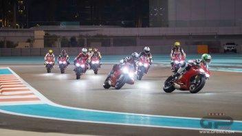 Moto - News: Ducati Riding Experience, i corsi in notturna