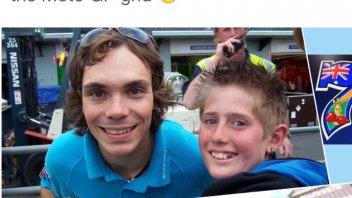 Mike Jones da giovane fan a pilota di MotoGP