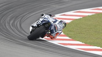 Lorenzo: the last turn? I don't know why it's been changed