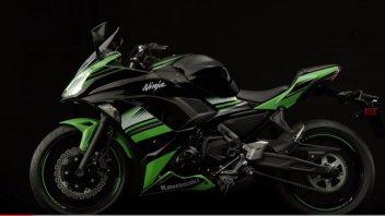 Moto - News: Kawasaki, l'altro volto Ninja: si aggiorna la 650e 650ABS