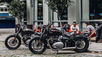 Moto - News: Triumph Bonneville Bobber m.y. 2017