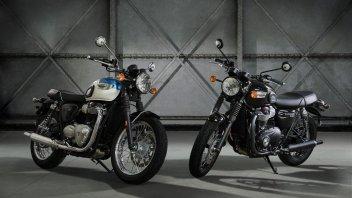 Moto - News: Triumph T100 e T100 Black m.y. 2017