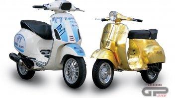 Moto - Scooter: Polini 23 K Gold Vespa and Polini 171cc 4 Stroke Vespa4T