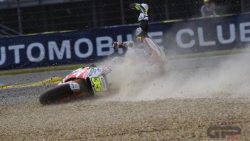 Crutchlow, Rodrigo and Lowes are the kings of crash