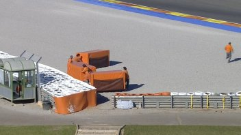 Test. The riders complain: lack of air fences