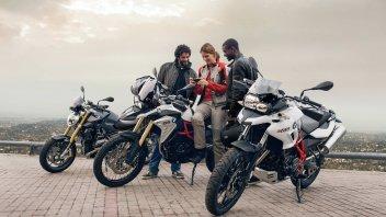 Moto - News: BMW presenta il ConnectedRide - sicurezza e comfort