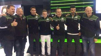 Michael Canducci in Supersport con Puccetti