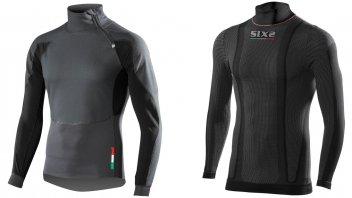 Moto - News: SIXS: abbigliamento termico, freddo, non ti temo