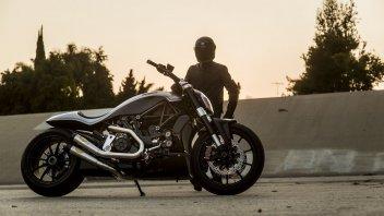 """Moto - News: Ducati, al Motor Bike Expo la """"prima"""" per l'XDiavel by Roland Sands"""