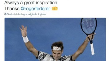 Rossi: Federer is always a great inspiration